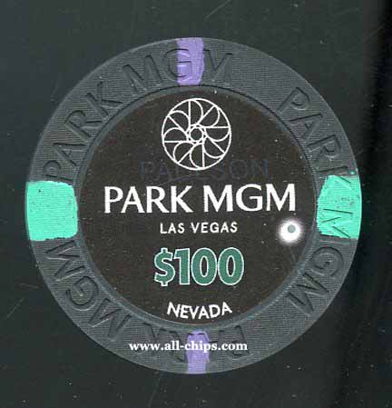 $100 Park MGM 1st issue
