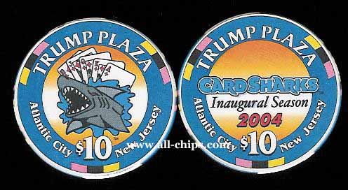 TPP-10b CC $10 Trump Plaza Card Sharks