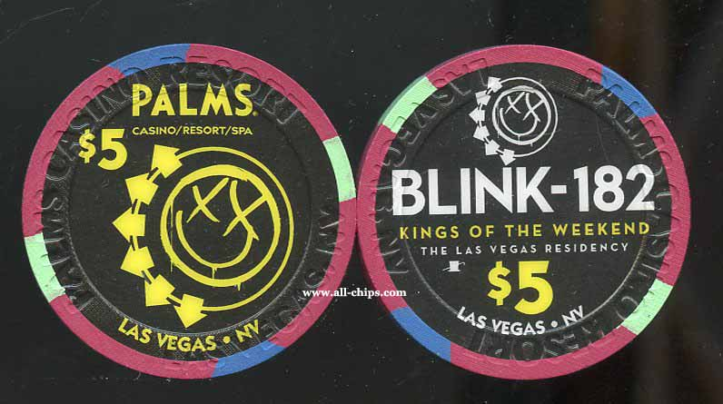 $5 Palms Blink 182 Yellow 1 of 2