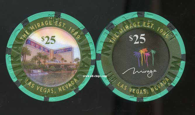 $25 Mirage 30th Anniversary Beatles Love 2 of 2