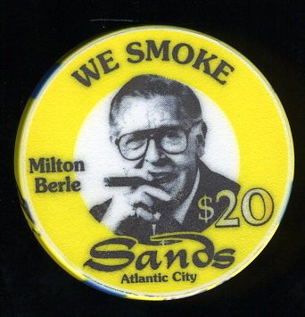 SAN-20c $20 Sands Milton Berle  We Smoke