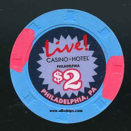 $2 Live Casino Poker Room Philadelphia, PA.