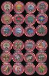 MAR-5h-5s $5 Trump Marina Restaurant Series 12 chip set