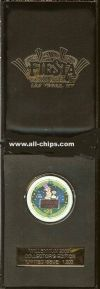 $25 Fiesta LTD W/ Box 1st and Last chip of the Millennium.(1 Chip with both on each side)